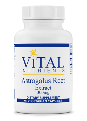 Astragalus Extract 300mg by Vital Nutrients 90 capsules