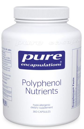Polyphenol Nutrients by Pure Encapsulations 360 Capsules