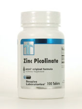 Zinc Picolinate 20mg 100 tabs