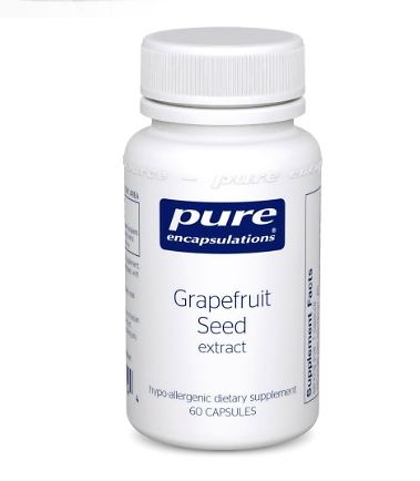 Grapefruit Seed extract 250mg by Pure Encapsulations 60 Capsules