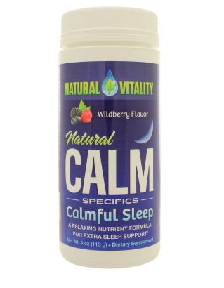 Natural Calm Calmful Sleep by Natural Vitality 4oz