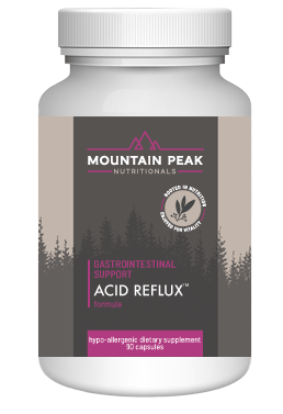 Acid Reflux by Mountain Peak Nutritionals-New Formula
