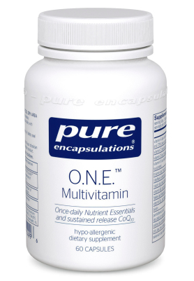 O.N.E. Multivitamin by Pure Encapsulations 60 capsules
