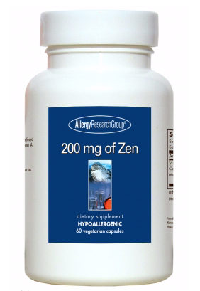 200 mg of Zen by Allergy Research Group 60 Vegetarian Capsules