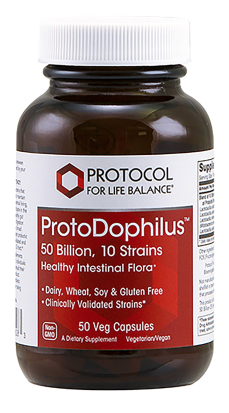 ProtoDophilus 50 billion, 10 Strains by Protocol for Life Balance 50 capsules