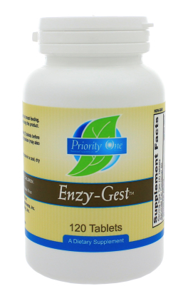 Enzy-Gest by Priority One 120 tablets