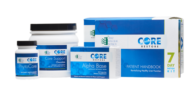 Core Restore 7-Day Kit (Chocolate) by Ortho Molecular
