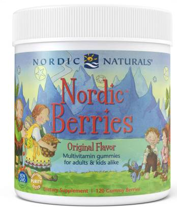 Nordic Berries 120 count/Gummy Berries